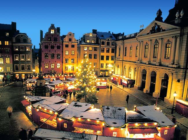 Mercatino di Natale a Stoccolma
